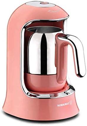 Korkmaz A860 - Cafetera monodosis, color rosa: Amazon.es: Hogar