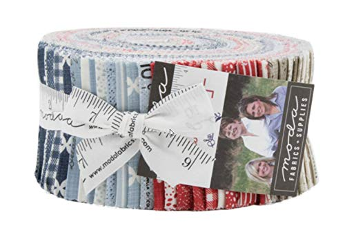- Sweet Tea Jelly Roll 40 2.5-inch Strips by Sweetwater for Moda Fabrics 5720JR