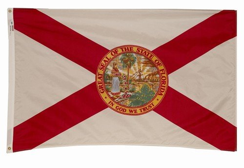 6x10 Florida State Flag American Made Superior Outdoor Nylon