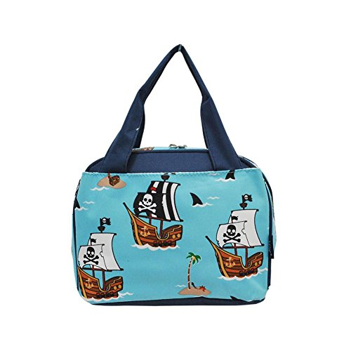 NGIl Insulated Lunch Bag 2018 Collection (Pirate Battleship Navy) -