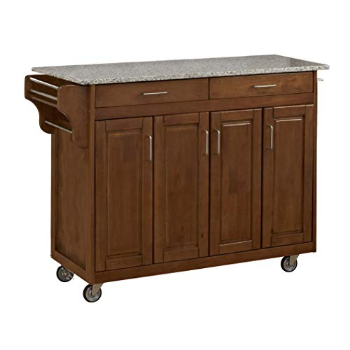 kitchen carts with granite top - 4