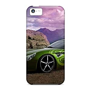 CloudTown CwSCI8185bzVfN Protective Case For Iphone 5c(colorful Alfa Romeo)