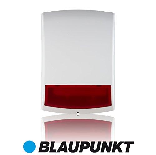 Blaupunkt Funk-Aussensirene BX-S1 mit Stroboskoplicht (kompatibel mit den Blaupunkt SA & SH Funk-Alarmanlagen)