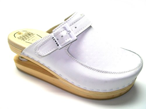 LUVER Clog white 40 with spring color A size 127 ggHrxUw