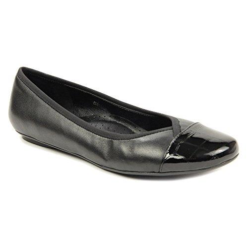 Vaneli Womens Sitta Flats Schoenen Black Nappa