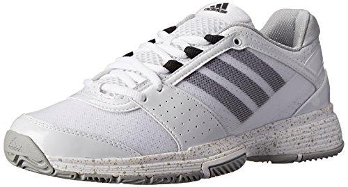 - adidas Performance Women's Barricade Team 3 W Tennis Shoe, FTWR White/Black 1/Silver, 9 M US