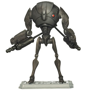 """Star Wars The Clone Wars Animated 3 3/4"""" Super Battle Droid Action Figure"""