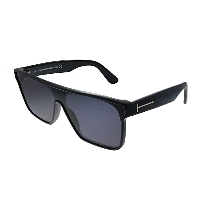 Tom Ford FT0709 WYHAT SHINY BLACK (01A) - Gafas de sol ...