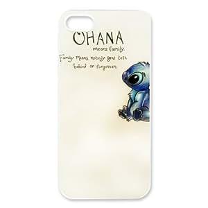 Ohana iPhone 5 Case Hard Plastic iPhone 5 Case by ruishername