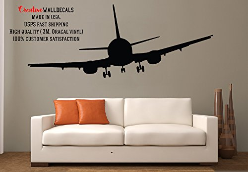 Wall Decal Vinyl Sticker Decals Art Decor Design Airplane Military War Air Aviation Sky Attack Man Boys Bedroom Living Room Nursery(r454) (Fdc Airplanes)
