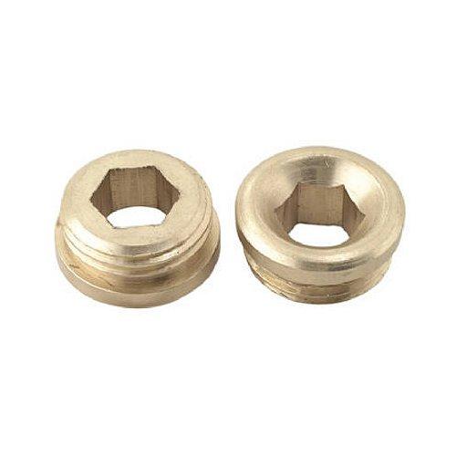 brass craft service parts sc1871x 2 Pack, 5/8 -Inch x 18 Thread, Brass Faucet Seat by BrassCraft