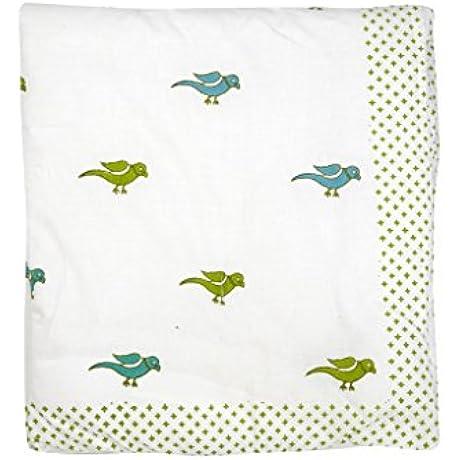 Cocobee Baby Quilt In Handblocked Prints