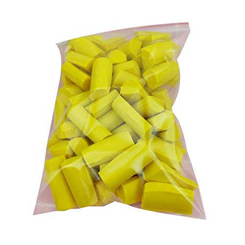 TRENTON Stress Release Slime Mud Filler Clay Decoration Craft Supplies Sponge Strip Foam DIY Kit Supplies Golden Yellow