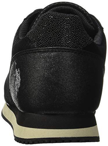 Femme s Baskets Assn polo Nero Blk black Vanity Club U xawYq7XdZa