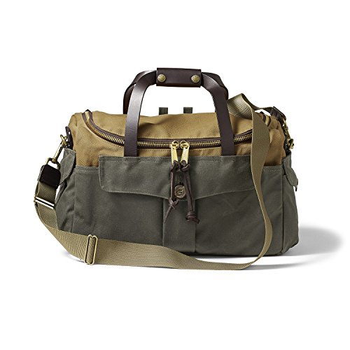Filson Heritage Sportsman Bag Tan and Otter Green by Filson