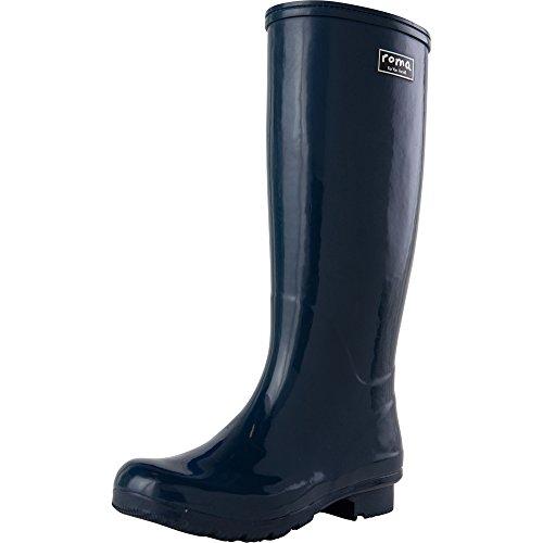 Roma Boots Women's Emma Classic Rain Navy