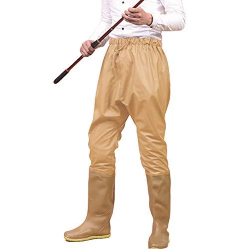 Donna Bootfoot Waders Volante Guadare Alto Pesce Trampolieri Da All'aperto Stivali Pesca Agricoltura Caccia Cachi Scafandro Uomo Vita Yuandian Pantaloni XHBw5n7qB