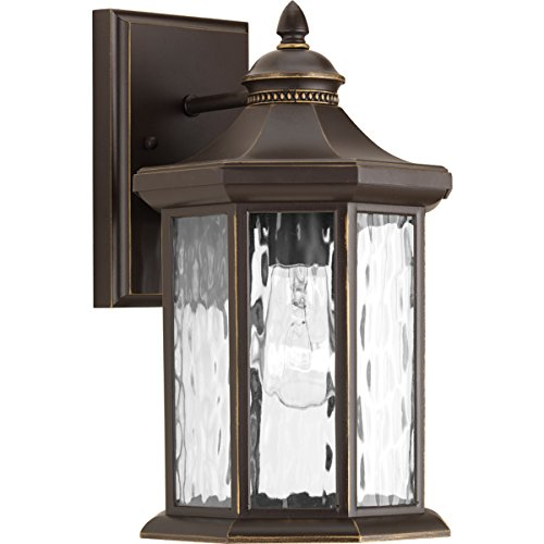 Progress Lighting P6071-20 Traditional/Classic 1-100W Med Wall Lantern, Antique Bronze - Progress Lighting Bronze Outdoor Lantern