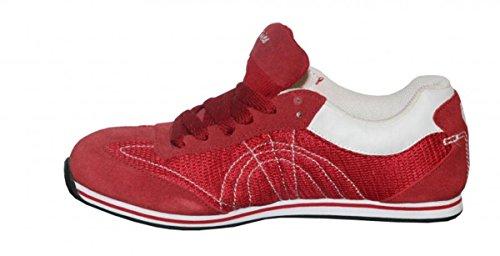 Etnies Skateboard womens shoes Lo-Qwan-Do Mesh Red/White