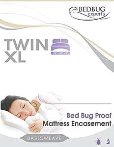Bed-de-bug Mattress or Box Spring Encasment Twin XL Size 39 X 80 X 9