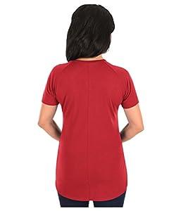 NBA Women's Fanatic Force Short Sleeve Scoop Neck Tee