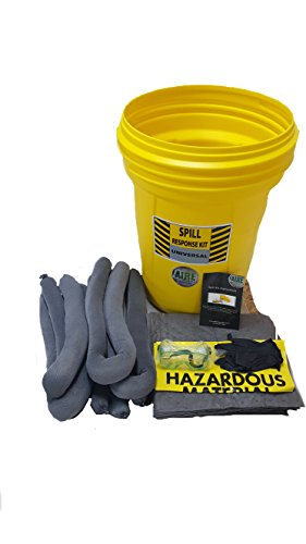 AIRE Industrial 942-006467 Overpack Spill kit, Universal, 20 Gallon, Yellow ()