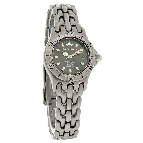 (Roven Dino Talon Ladies Titanium Swiss Watch 8008WXX12)