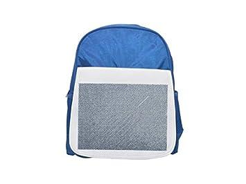 Mochila infantil azul con texturas de Singapur, bonitas mochilas, bonitas mochilas pequeñas, bonita