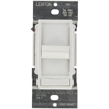Leviton 6637 Pw Sureslide 5a Preset Full Range Fan Speed