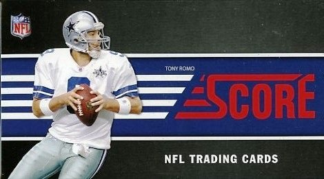 2011 Score NFL Football Massive 400 Card Complete Set fea...
