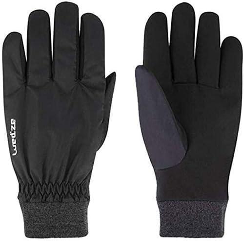 AMAZACER 手袋サイクリングノンスリップワークグローブ防水暖かい冬のスキー手袋/作業機器のフルフィンガーグローブ/レッド・ブラック(色、ブラック、ミディアム、M)、ブラック、Xラージ(カラー:レッド、サイズ:L) (Color : Black)