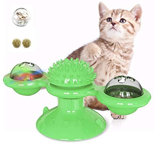 Aimtel Katzenspielzeug, Interaktives Katze Spielzeug,Kätzchen Spielzeug mit Katzenminze,Spaßspielzeug für Katze
