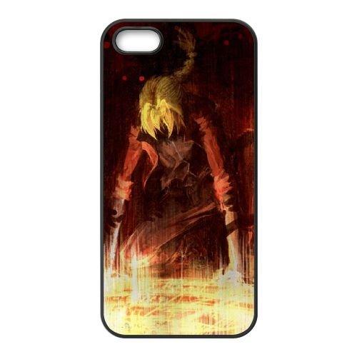 U3L88 Fullmetal Alchemist K7N2OO coque iPhone 4 4s cellule de cas de téléphone couvercle coque noire RY1ESI7TR
