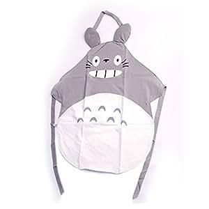 1 X Hayao Miyazaki Totoro Gray Apron by Venz