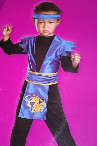 Midnight Ninja Toddler Costume - Midnight Blue Costumes