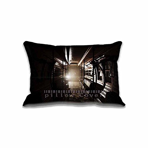 Fallout 4 subway Unique Pillow Cases Art for Living Room , Very Nice Games Chair Cushion Covers Diy Style Fallout Bedding (Fallout Diy)