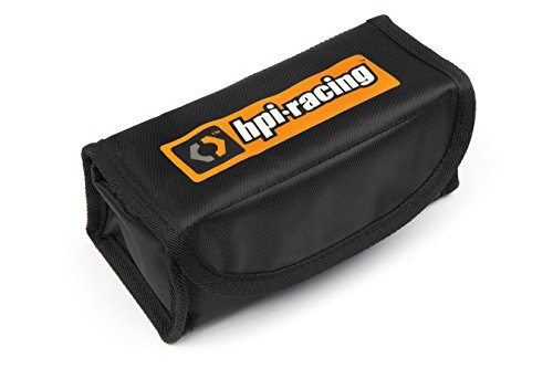 Hpi Carrying Bag (HPI Racing 107249 Racing Plazma Pouch Lipo Safe Case Black)
