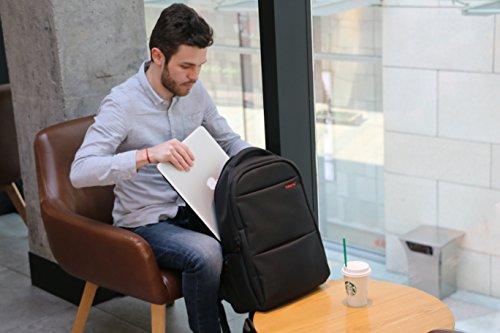 7ecc97337a NORSENS Lightweight Laptop Backpacks 18 inch Mens Business Backpack ...