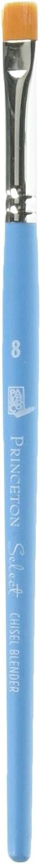 Princeton Artist Brush Select Synthetic Brush Chisel Blender Size 8