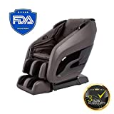 Titan Chair Apex AP-Pomp Zero Gravity Massage Chair, Foot Rollers, Space Saving, L-Track Design, and Lower Back Heat Therapy (Dark...