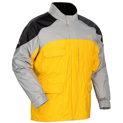 Tourmaster Men's Yellow Sentinel Rain Jacket - Size : 2XL
