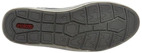 Hautes Bleu 30921 Rieker Homme granit Sneakers schwarz ozean qaRaIwExz