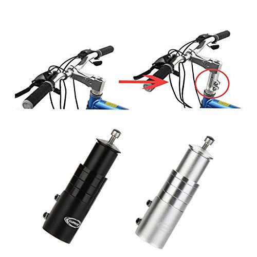 EverTrust(TM) Aluminum Alloy Bicycle Stem Increased Control Tube Extend Handlebar Stem Heighten Bike Front Fork Bicycle Parts (Bicycle Fork Pump)