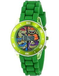 Ninja Turtles Kids' Digital Watch with Matallic Green...