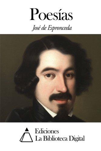 Poesías (Spanish Edition) (Espronceda Jose De)