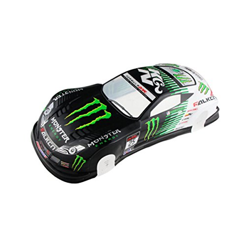 10 Painted Body (Coolplay 1/10 PVC Painted Body Shell RC Racing Car Accessories)