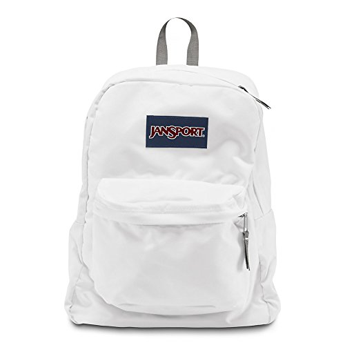JanSport Superbreak Backpack - White - Classic, Ultralight
