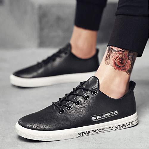 Loisirs Petit Tendance Hommes Chaussures Sport Mode Loisirs Sneakers NANXIEHO Hommes Blanc qZO8O