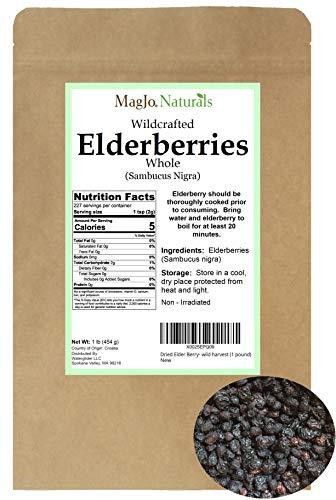 Dried Elder Berry- wild harvest