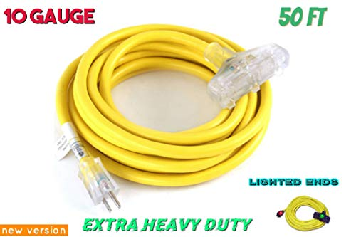Century Cord yellow jacket extension cord 10/3 50 ft for sale  Delivered anywhere in Canada